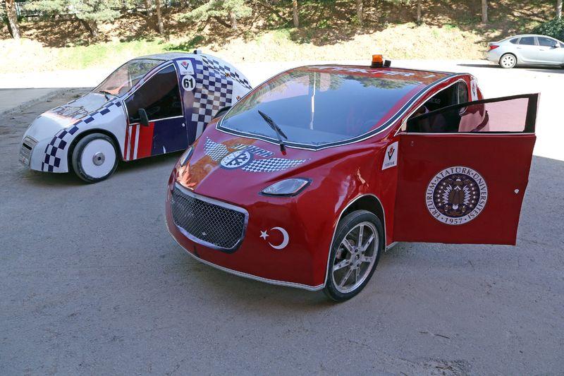 nin ilk yerli elektrikli otomobili: atakar
