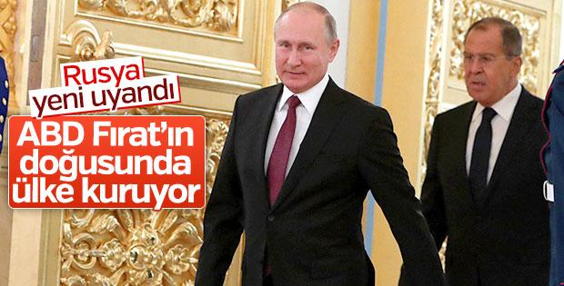 Lavrov ABD'nin planlarını anlattı