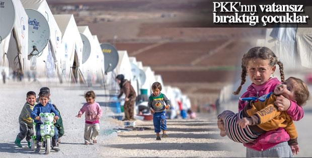 11 bin Suriyeli çocuk Şanlıurfa'da çadır kentte