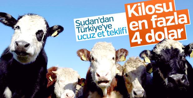 Sudan, Türkiye için ucuz ve kaliteli et satmak istiyor
