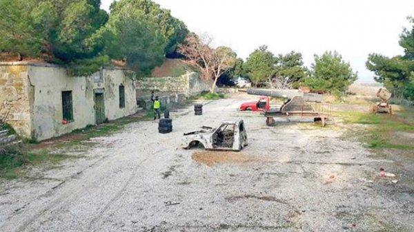 Tarihi Orhaniye Tabyası paintball sahasına çevrildi