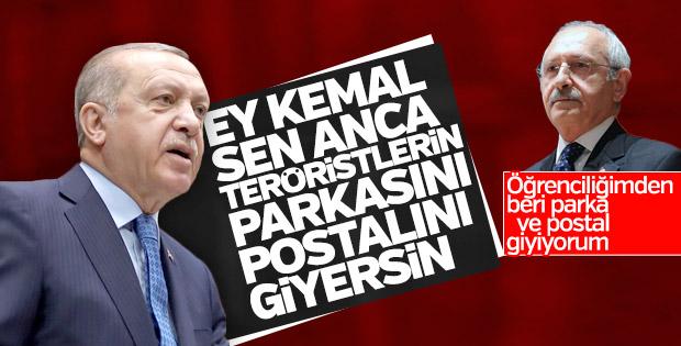Erdoğan'dan Kılıçdaroğlu'na postal eleştirisi