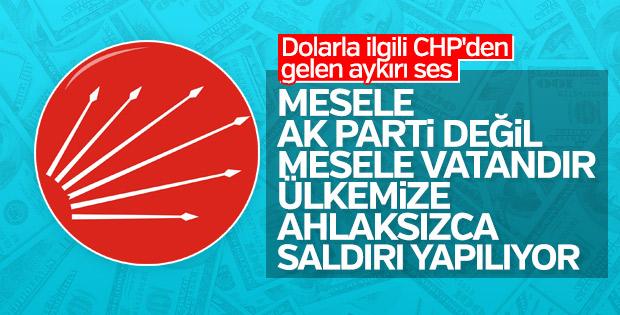 CHP'li Pekşen'den dolarla ilgili birlik çağrısı geldi
