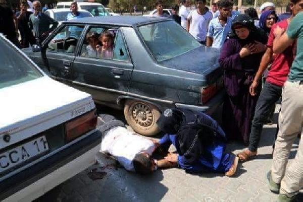 Eşi ve çocuklarının gözleri önünde cinayete kurban gitti