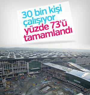 3. Havalimanı'nın Yüzde 73′ü Tamamlandı.. İşte Detaylar.. (17-11-2017)