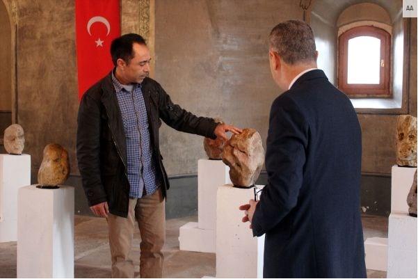 Çoban Ahmet'ten Edirne'de İnsansı Taşlar Müzesi