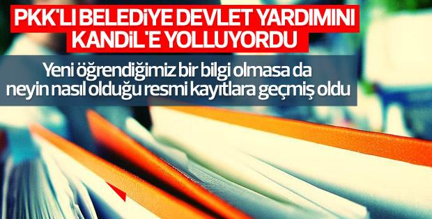 HDP'li belediyenin PKK'ya desteği iddianamede