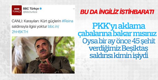 İngiliz BBC'nin PKK'lı teröristleri koruma kaygısı