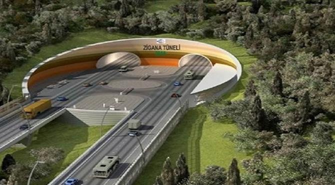 Zigana Tüneli dünyanın en büyük ikinci tüneli olacak