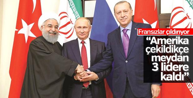 Fransızların gözü Türkiye'deki Suriye zirvesinde
