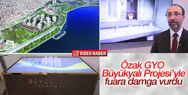 Özak GYO 'Büyükyalı Projesi'ni tanıttı