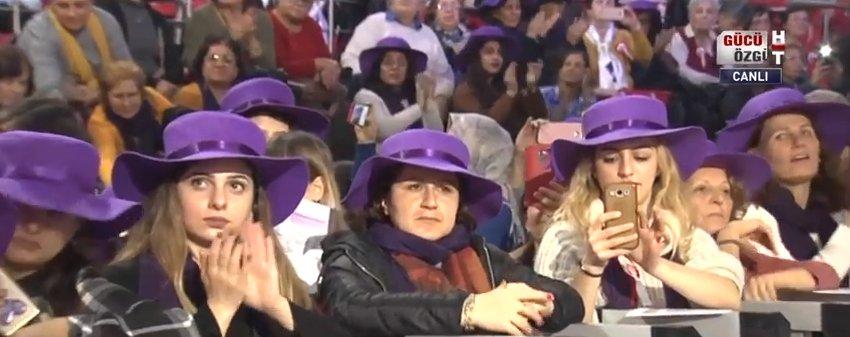Kemal Kılıçdaroğlu CHP Kadın Buluşması'nda