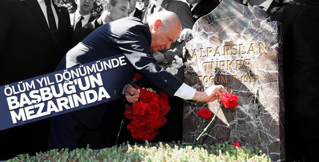 Ankara'da Alparslan Türkeş için anma töreni