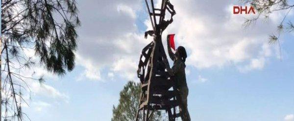 Burseya Dağı teröristlerden temizlendi