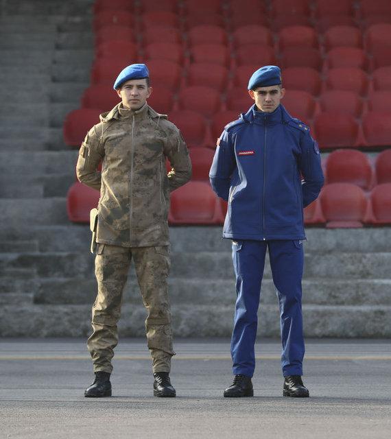 Jandarmanın yeni kıyafetleri