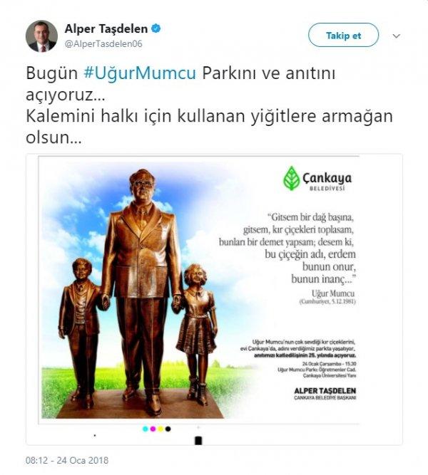 CHP Uğur Mumcu'nun heykelini dikecek