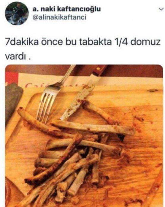 Canan Kaftancıoğlu'nun eşinin domuz ziyafeti