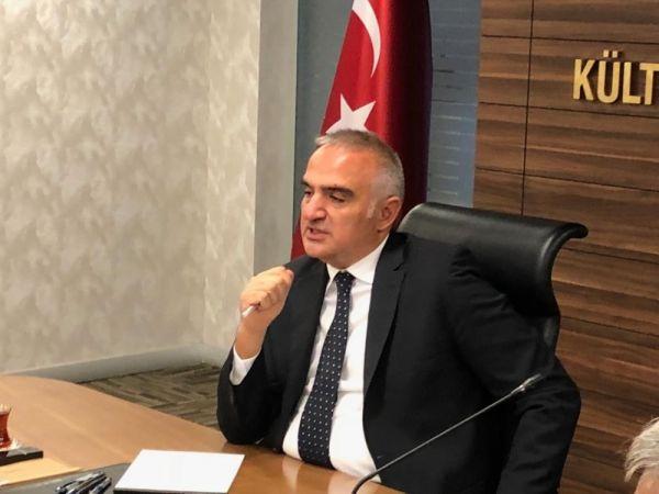 Bakan Ersoy: 2019'da hedefimiz 50 milyon turist