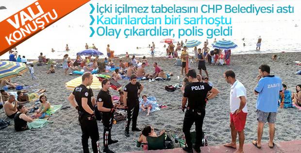 Zonguldak Valisi: Plajda içki haberi maksatlı yapıldı