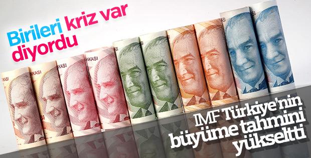 IMF, Türkiye'nin büyüme beklentisini yine yükseltti