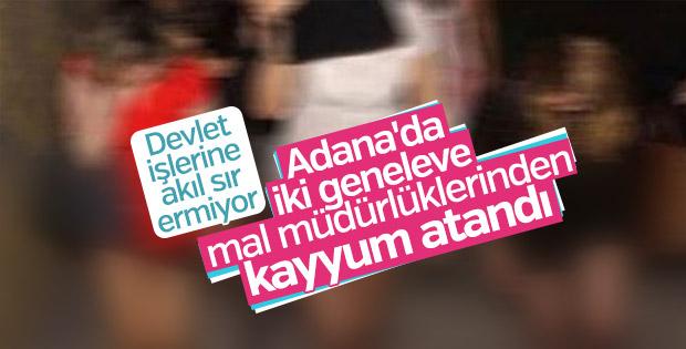 Adana'da iki geneleve kayyum