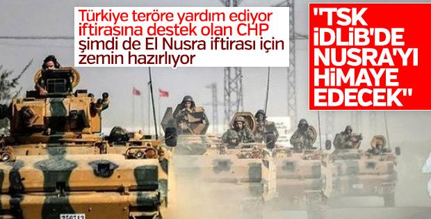 Öztürk Yılmaz: TSK İdlib'de El Nusra'yı himaye edecek