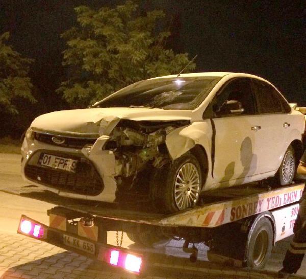 Adana'da tamirciye verilen otomobil çalındı