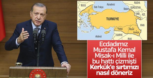 Cumhurbaşkanı Erdoğan 40. Muhtarlar Toplantısı'nda konuştu