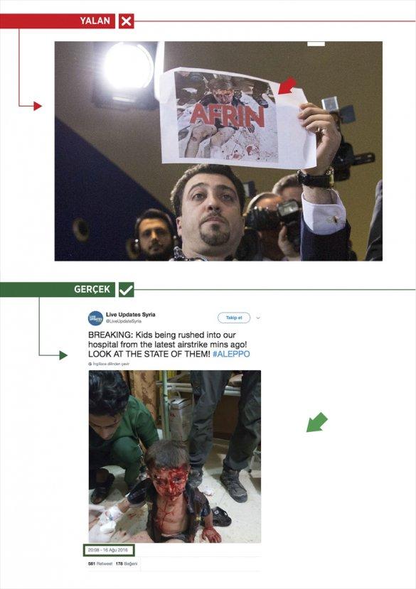 Yıldırım-Merkel toplantısında sahte fotoğraflı propaganda