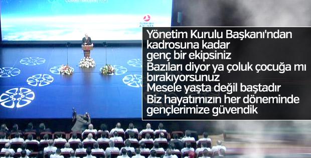 Cumhurbaşkanı Erdoğan THY'den övgüyle bahsetti