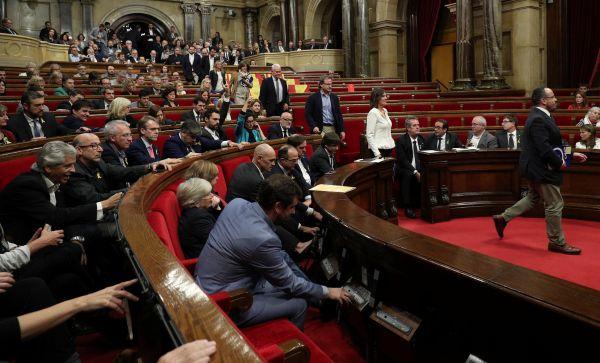 Katalonya bağımsızlığını ilan etti