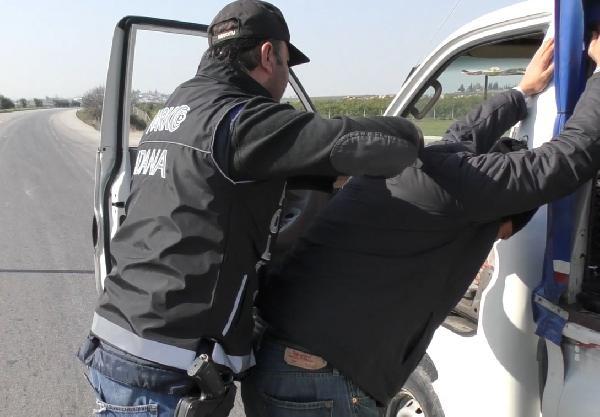 Teröristlere gönderilen cesaret verici haplar yakalandı
