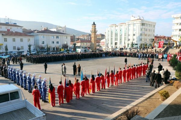 Yozgat'ta 10 Kasım Atatürk'ü anma töreni düzenlendi