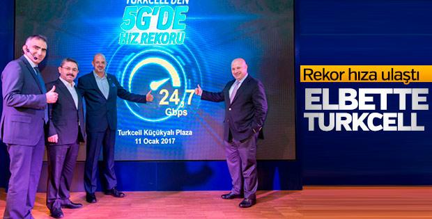 Turkcell, 5G testinde 24,7 Gbit hıza ulaştı