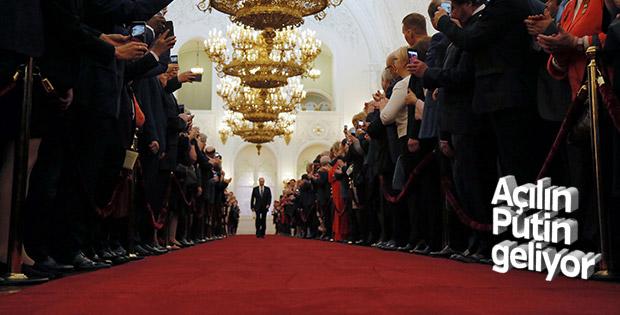 Rusya Devlet Başkanı Putin yeni dönemi için yemin etti