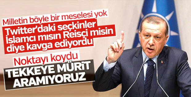 Medyadaki İslamcı - Reisçi tartışmaları Erdoğan'a soruldu