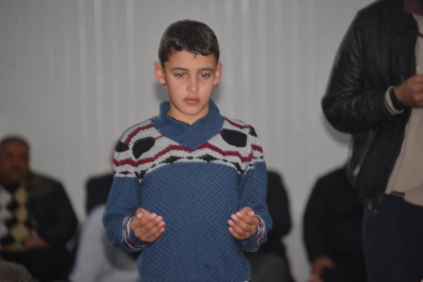 Konteyner kentteki Suriyelilerden Afrin duası