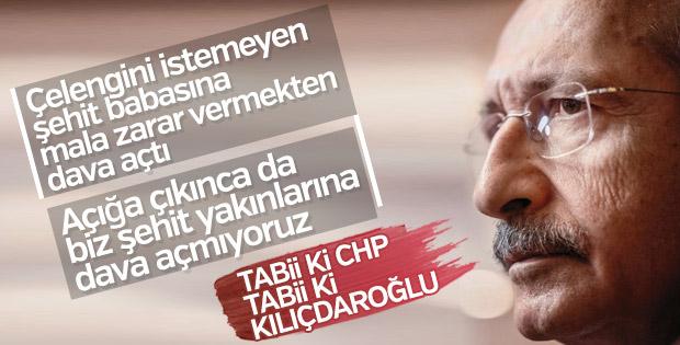 Kemal Kılıçdaroğlu şehit ailesiyle mahkemelik oldu