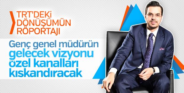 TRT Genel Müdürü İbrahim Eren kurumun projelerini anlattı
