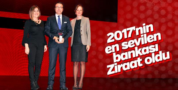 Türkiye'nin en sevilen bankası bu yıl da Ziraat Bankası