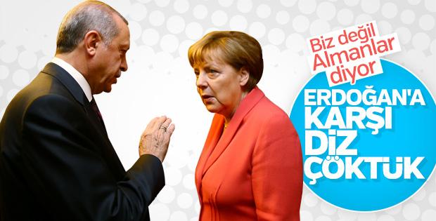 Alman basını Erdoğan'ın ziyaretini tartışmaya başladı
