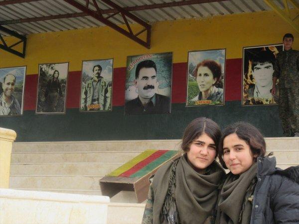 PKK'nın silah altına aldığı çocuklar