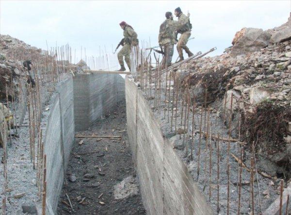 Ali Bekki köyü teröristlerden temizlendi