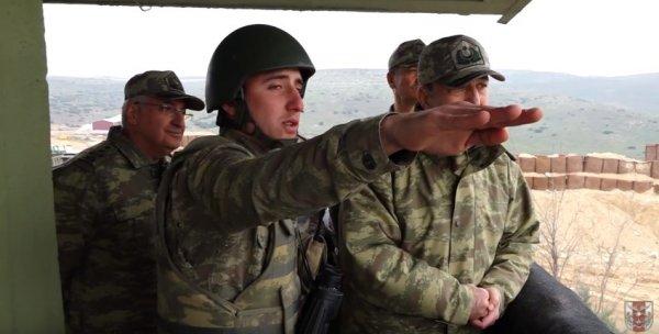 Vanlı askerin hudut tekmili hayran bıraktı