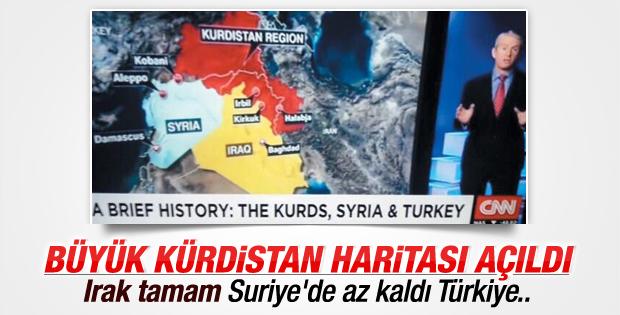 Büyük Kürdistan için plan işlemeye başladı