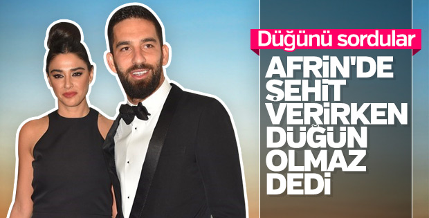 Arda Turan: Savaş varken düğün olmaz
