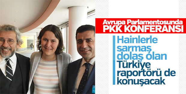 Avrupa Parlamentosu PKK'lılar için konferans düzenliyor