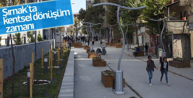 Şırnak'ta kentsel dönüşüm zamanı