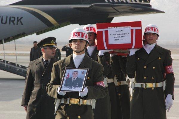 Afrin şehidinin cenazesi Giresun'da son yolculuğuna uğurlanacak