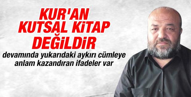 İhsan Eliaçık: Kur'an kutsal kitap değildir